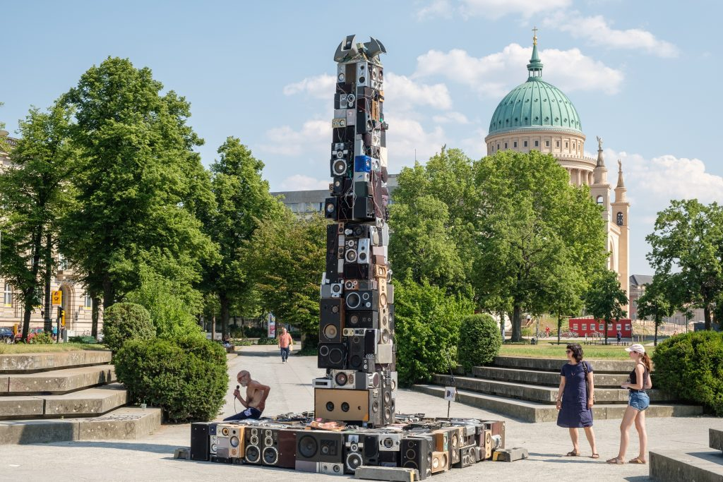 OBELISK : a Speakers Corner for Potsdam, Foto: © Frank Paul